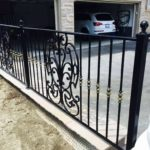Wrought Iron Exterior Railings 025