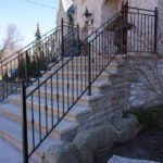 Wrought Iron Exterior Railings 173