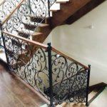 Wrought Iron Interior Railings 010