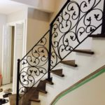 Wrought Iron Interior Railings 025